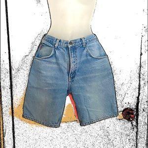 Vintage Bugle Boy jean shorts